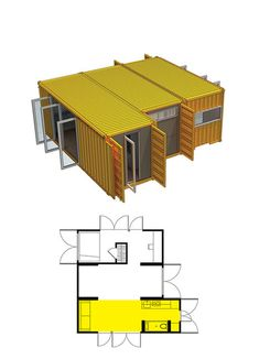 The Montainer Nomad ™ base home module provides you with everything you need in a home, and much, much more with just under 200 square feet. Complete secureability & ultra low maintenance. http://clickbank.dunway.com/affiliate_videos/containers/index.html