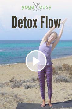 Detox Yoga Flow mit Kristin Rübesamen: Entgiftende Yoga-Übungen für den Bauch