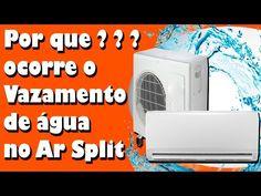 Ar condicionado by Gilson Eletricista: Por quê ocorre o vazamento de água no ar Split ?