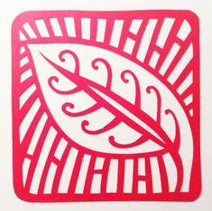 Leaf Motif Permalink Page | Stencilletta Papercutting Blog