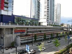 Downtown Costco - tired of schlepping to the burbs for your Costco fix?  Borders Vancouver's  International Village, Downtown, and Yaletown...with cheap underground parking ($2 for 2 hours).  It is far less busy than your typical Costco, especially on a weekday evening. Great selection and it's on the Skytrain line. Costco-filled prescriptions are the cheapest in the city, and you don't need to be a member to use the pharmacy.  What more do you need?