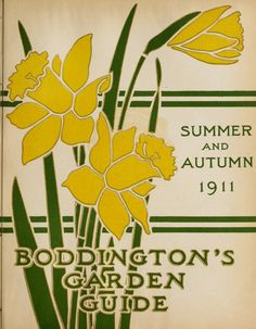 1910:Spring-Autumn 1911:Spring-Summer & Autumn 1 - Boddington's quality bulbs, seeds and plants / - Biodiversity Heritage Library. #BHLinbloom