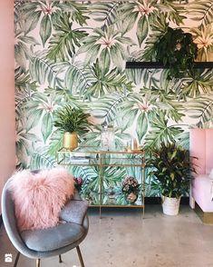 Fototapeta z motywem roślin - zdjęcie od Martyna - Salon - Styl Eklektyczny - Martyna