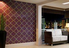 Inspirado em tramas e bordados, o mosaico Tessera Entrelacé, da Biancogres (www.biancogres.com), é composto por pastilhas de cerâmica monoporosa. Indicado para paredes internas e externas, inclusive de áreas molhadas, o revestimento é vendido em placas de 30 x 30 cm e custa R$ 42 (por aglomerado).