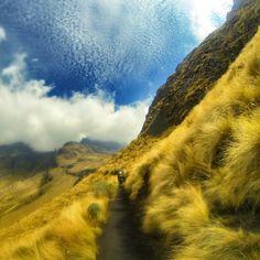 Hiking through a mountain wonderland. #NeverStopExploring   Photo: TNF fan Jorge.