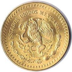 Moneda de oro 1/2 onza oro puro México 1981, Tienda Numismatica y Filatelia Lopez, compra venta de monedas oro y plata, sellos españa, accesorios Leuchtturm