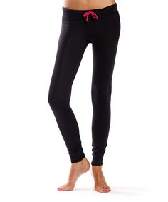 Look what I found on #zulily! American Fitness Couture Black Compression Running Tights by American Fitness Couture #zulilyfinds