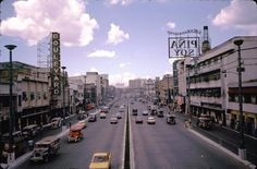 Quezon Boulevard, Quiapo, viewed to the South from the Raon Pedestrian Overpass. Philippines Culture, Manila Philippines, Retro Pi, Filipiniana, Cool Photos, Interesting Photos, Pinoy, Vintage Photos, April 14