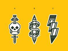 Sticker Mule Options by Joshua Gille #Design Popular #Dribbble #shots