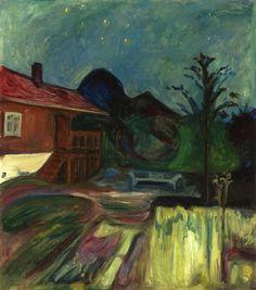 Edvard Munch, Summer Night, 1902.