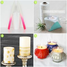 Inspiration of the Week: DIY Candles