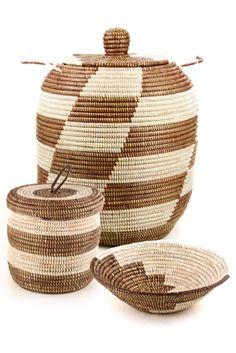 Brown Prayer Mat Baskets