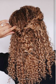 Cool Curly hairstyles, natural hair, 3b, 3c, curls, half updo, braids, blonde, ombre, curly hair extensions Ashley Bloomfield The post Curly hairstyles, natural hair, 3b, 3c, curls, half u ..