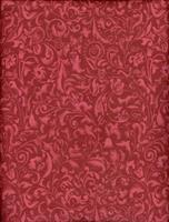 Tecido arabesco cereja