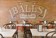 Them balls be mad creative!  A little slice of heaven in Penn Quarter.