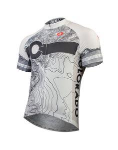 Colorado Topo Cycling Jersey Men's