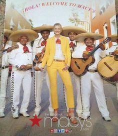 Macy's Spring Collection: You, Too, Can Look like a Short, Dark-Skinned Mariachi