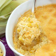 Creamy Corn Pudding {Sweet Pea's KItchen}