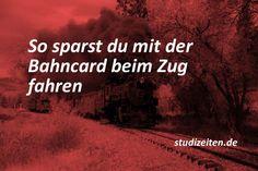 Bahncard Studenten: So sparst du als Student mit der Bahncard beim Zug fahren