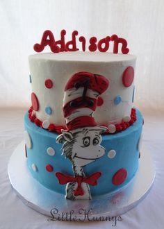 Cat in the hat cake!