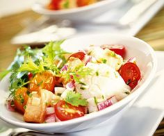 Salade de Saint-Jacques aux légumes