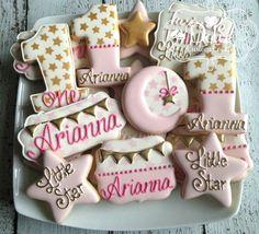 Twinkle Twinkle Star poco primer cumpleaños bebé ducha rosa y