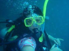 Getting my PADI Open water diver cert. - CHECK!