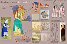 Neysa Bové: Costume Design for Cinderella Prt. 1