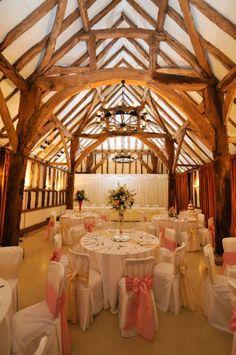 The Great Barn-Studio - Denham Court Farm wedding venue in Denham Village (nr Uxbridge), Buckinghamshire. Denham Court Farm is a magnificent and tranquil Grade II listed barn complex located in an idyllic setting. See all Buckinghamshire venues here http://www.weddingvenues.com/search.php?venue_name=&city=&county=buckinghamshire&venue_type=#