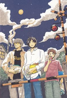 Chika Umino, Honey And Clover, Takumi Mayama, Yuuta Takemoto, Shinobu Morita Sword Art Online, Online Art, Honey And Clover, Japanese Animated Movies, Animation, Ghost In The Shell, Manga Illustration, Comic Artist, Anime Love