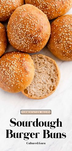 This recipe is perfect for beginner and experienced bakers to learn how to make fluffy, soft, vegan sourdough burger buns. Once you make these buns, they're the only buns you'll want. Try these buns with any veggie burger recipe! #sourdough #burger #buns #burgerbuns #vegan Easy Healthy Recipes, Whole Food Recipes, Healthy Meals, Kitchen Recipes, Baking Recipes, Sourdough Recipes, Bread Recipes, Rye Sourdough Starter, Sourdough Bread