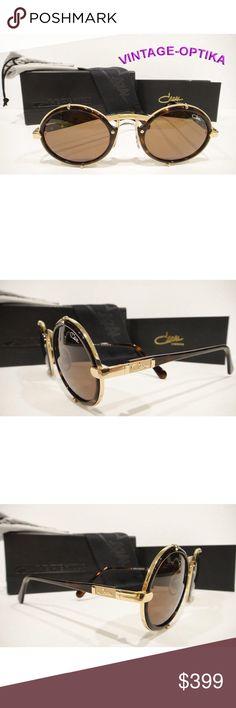 daa8013fa2eb CAZAL 644 SUNGLASSES BROWN GOLD (COL-7) AUTHENTIC Authentic Brand New CAZAL  644
