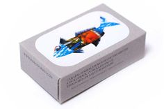 Massively charming packaging! | Jose Gourmet make sardines + squid look magnificent
