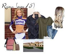 """""""Ryan // 4-7-17 // School"""" by dream-families ❤ liked on Polyvore featuring True Grit, H&M, J.Crew, Vans, Victoria's Secret, Vera Bradley, S'well and TheWadeFamily"""