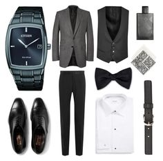 """Men's Flatlay"" by claude-vann on Polyvore featuring Dolce&Gabbana, Corneliani, ETON, A.P.C., Tom Ford, Etro, Burberry, men's fashion and menswear"