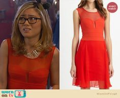 Ming's red prom dress on Awkward. Outfit Details: http://wornontv.net/24405 #Awkward #fashion #prom