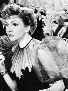 Claudette Colbert in Midnight (1939)