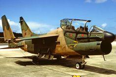 Corsair II parked on Bravo plate in Photo: Stuart Mitchell. Military Jets, Military Aircraft, Fighter Aircraft, Fighter Jets, Propeller Plane, Military Equipment, Jet Plane, Aviation Art, War Machine