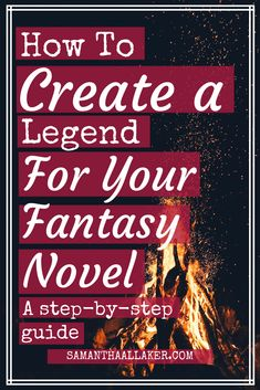 Create a Legend for Your Fantasy Novel in 4 Easy Steps – SAMANTHA ALLAKER Master the power of traditional storytelling and learn how to create a magical and impactful legend for your fantasy novel using this step-by-step guide. Book Writing Tips, Book Writer, Writing Process, Writing Resources, Start Writing, Writing Help, Writing Guide, Writing Goals, Writing Services
