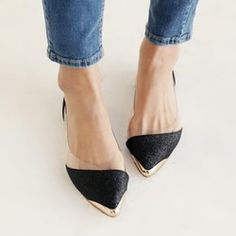 40867c94d88b6 Online Shop New Fashion Pointed Toe Womens Shoes Loafers Low Heel Comfort  Flats BLACK GOLD Shoes