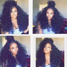Gorgeous Indian Curly hair !!FREE SHIPPING! 2-3 working days! Natural color can be dyed! SALE WILL be over!! Order web: Check the bio! PayPal accepted!!! For more info or WHOLESALE ,pls Dm or email.