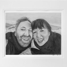 Congratulations to the gorgeous Adam and Di on their marriage! Here's their custom wedding illustration, gifted by their friends Heather and Paul. DM for inquiries! Realistic Pencil Drawings, Graphite Drawings, Animal Drawings, Wedding Illustration, Portrait Illustration, Dog Portraits, Wedding Portraits, Arches Watercolor Paper