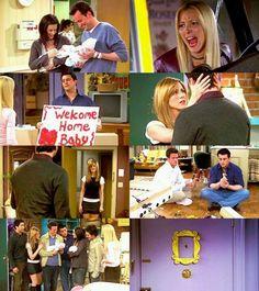 Last episode of friends<3
