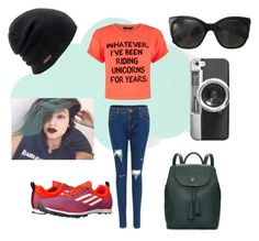 """""""swag,swag,swag"""" by mrs305aka ❤ liked on Polyvore featuring ferm LIVING, Tory Burch, adidas, Coal, Chanel and Casetify"""