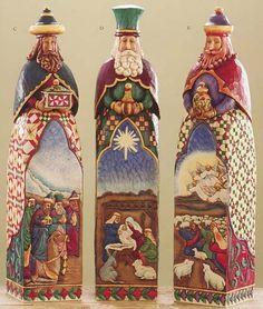 jim shore santas quilted pattern