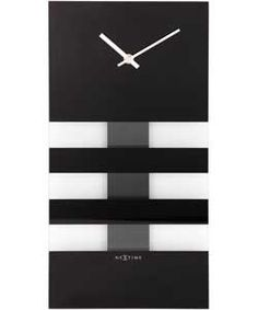 Buy NeXtime Black Bold Stripes Wall Clock at Argos.co.uk, visit Argos.co.uk to shop online for Clocks