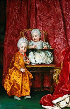 Anton Raphael Mengs - Archduke Ferdinand and Archduchess Maria Anna of Austria