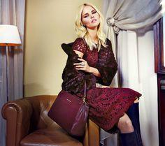 Luisa Spagnoli campagna Glamour Allure 2016