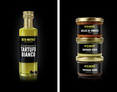Reto Mathis Delicatessen - Packaging Design Tapenade, Sauce Bottle, Packaging Design, Food, Gourmet, Tomatoes, Communication, Projects, Essen