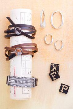 Jewel Kade has awesome bracelets! I wear my simple leather wrap every day. Http://Courtney.jewelkade.com